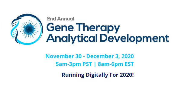 2nd Annual Gene Therapy Analytical Development Summit USA - digital event