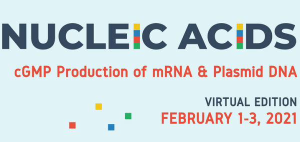Nucleic Acids- cGMP Production of mRNA & pDNA (virtual edition)